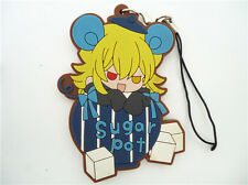 Anime Pandora Hearts Heart of Pandora Vincent Rubber Phone Straps Charm Keychain
