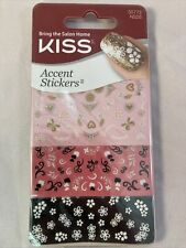 Kiss Salon Nail Art Accent Stickers Assorted Manicure 55772 - COMBINED SHIPPING