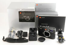 【TOP MINT】Leica M8.2 Rangefinder Digital Camera Black Body 10.3MP +BOX Strap JP