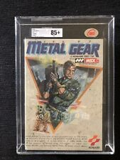 Metal Gear Msx Jap Ukg 85+ Sealed