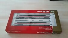 FLEISCHMANN 'HO' GAUGE 448283 ICE 3 BR 407 SUPPLEMENT SET VELARO, SET III BOXED