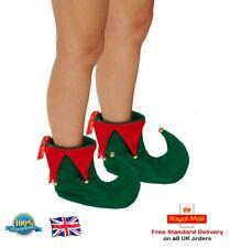 Adulte Elf Bottes Pixie Chaussures Noël Déguisements ELF Chaussures Elf Costume objet