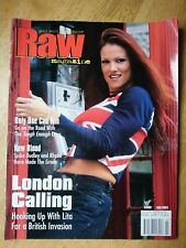 Wwf Magazine July 2001 with Lita poster
