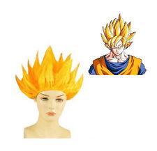 Dragon Ball Z Super Saiyan 2 Goku Wig Hair Cosplay Wig Yellow Wig Party Wig
