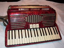 Pancordion Inc Red Accordion & Case