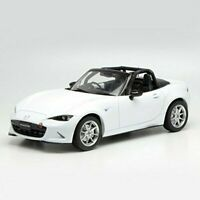 FIRST: 18 1/18 Mazda Roadster NR-A White finished product F18-019 9580015705967