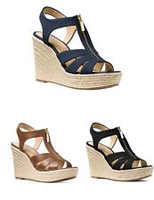 Women MK Michael Kors Berkley Wedge Sandals