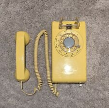 Yellow Western Electric Telephone - Rotary - Excellent Condition! Vintage