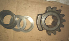 Oliver 70 Tractor original steering sector gear an shims parts