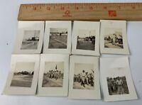 Original WWII Photo Lot of 8 USMC Marines in Beaufort SC Camp Training Pranks 3