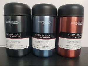 ThermoCafe by Thermos Food Flask 400ml Vacuum Insulated Travel Mug & Spoon NEW!