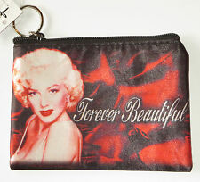 Marilyn Monroe Makeup Bag Forever Beautiful Red Sheets New Norma Jeane