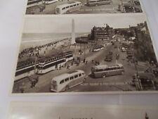 WW II Post Card  Blackpool & York  England