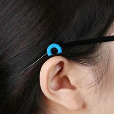 1Pair Round Glasses Ear Hooks Eyewear Sports Temple Tips Grip Slip Silicone F5R7