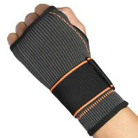 Sports Wrist Band Brace Wrap Adjustable Support Gym Strap Carpal Tunnel H