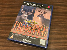 CABELA'S BIG GAME HUNTER (PAL) FOR SONY PLAYSTATION 2 PS2 / NEW, SEALED