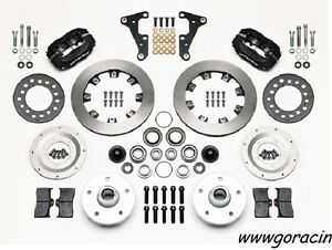 Wilwood Forged Dynalite Front Brake Kit, fits 1941-1956 Packard,4 piston caliper