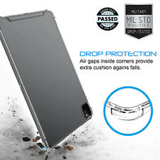 """For iPad Pro 12.9""""/11"""" 2020 TPU shockproof Case Soft Protective Clear Back Cover"""