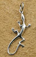 Gecko Anhänger Silber Gothic Schmuck - NEU