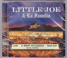"+Tejas/Tejano CD-Little Joe-""LIVE""/Night/Classics/Chuco"" Tejano TexMex CD NEW"