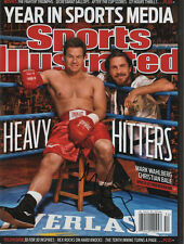 Mark Wahlberg The Fighter SIGNED Sports Illustrated 12/20/10 NL COA!