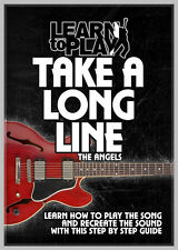 ICONIC AUSSIE HITS LEARN TO PLAY THE ANGELS TAKE A LONG LINE GUITAR LESSON DVD