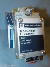Telemecanique L142-2M Cable Pull Limit  Switch L1422M Schneider ~~NEW~~