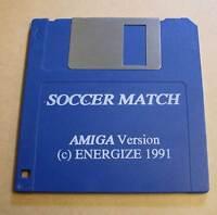Commodore Amiga Spiel - Soccer Match ( Fussball ) - Diskette Disc