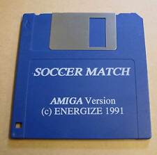 Commodore Amiga Spiel - Soccer Match ( Fussball ) - Diskette Disc