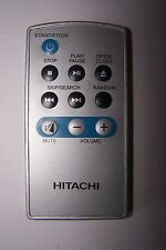HITACHI PORTABLE DVD PLAYER REMOTE CONTROL