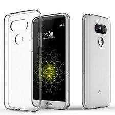 Pour LG G5 H850 / Dual SIM Coque Gel En Silicone Tpu Lisse Transparent