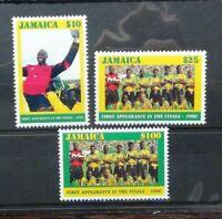 Jamaica 1998 World Cup Football Championship France set MNH