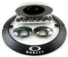NEW OEM Oakley POLARIZED Black Iridium Lenses Straight Jacket 2.0 Sunglasses 64