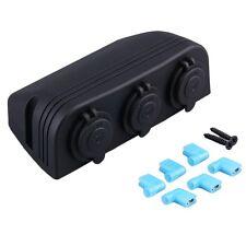 New Black Car Cigarette Lighter Socket Splitter 12V Charger Power Adapter AU