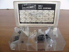 Vintage 1960s Tyco S Speedways Dealer Parts Box w/ NOS Parts #S885-1EX