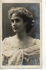 70260 Orig 1904 RPPC PC British Theatre Actress Miss Sybil Carlisle beautiful