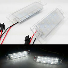 LED License Number Plate Light For Vauxhall Opel Corsa C D Astra H Cascada Vec