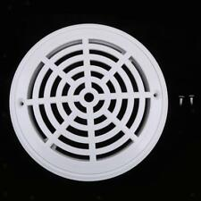 White Main Drain Cover Replacement for Swimming Pool