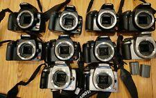 Lot of 10 Canon EOS Rebel XT/XTi Bodies 400D 450D