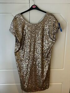 Brand New sequinned dress size 18 From Next