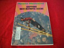 Sports Illustrated Sapporo 1972 Olympic Scene  November 15, 1971 Cover