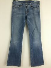 7 Seven for All Mankind Low Rise Jeans Faded Bootcut Stretch 26 26x32