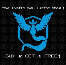 √ 1x Pokemon Go Team Mystic Articuno Blue Logo Styled Car Laptop Decal Sticker √