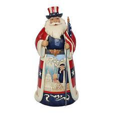 Jim Shore Heartwood Creek 'Star Spangled Santa' America Santa 6001474