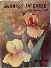 Quaint Designs From Mulberry Hill Tole Painting Patterns Pat Clarke Rare OOP
