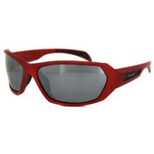 Occhiali da sole da uomo Sport Polaroid con lenti in rosso
