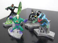 MONOGRAM MASTERWORKS JUSTICE LEAGUE FIGURINES BATMAN GREEN LANTERN LEX LUTHOR