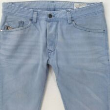 Mens Diesel DARRON 008QU Slim Tapered Blue Jeans W34 L34