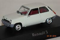 Renault 5 TL 1976 weiß 1:43 Norev neu + OVP 510514