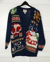 Heirloom Collectibles Womens Sweater Size XL Ugly Tacky Christmas Sweater 3D